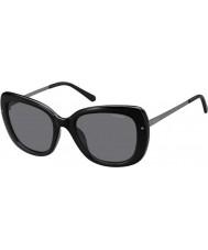 Polaroid Ladies pld4044-s cvs Y2 svart rutenium polariserade solglasögon