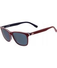 Lacoste L833s röd solglasögon