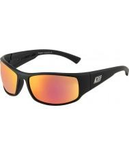 Dirty Dog 53339 nosade svarta solglasögon
