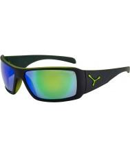 Cebe Utopy matt svart grön solglasögon