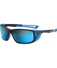 Cebe ProGuide matt svart blå 4000 grå mineral blå solglasögon
