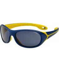 Cebe Simba (ålder 5-7) natten blå gula solglasögon