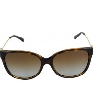 Michael Kors Mk6006 57 Marrakesh mörka sköldpaddsskal 3006t5 polariserade solglasögon