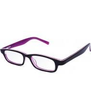 Eyejusters P1C1504PP Lila rosa justerbara läsglasögon - 0,00 till 3,00 styrka