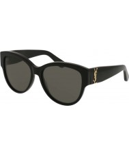 Saint Laurent Ladies sl m3 002 55 solglasögon
