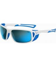 Cebe ProGuide skinande vit blå 4000 grå mineral blå solglasögon