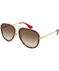 Gucci Ladies gg0062s 012 57 solglasögon