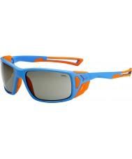 Cebe ProGuide matt blå apelsin variochrom topp solglasögon