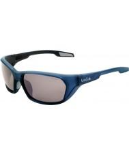 Bolle Aravis matt blå polariserad tns gun solglasögon