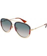 Gucci Ladies gg0062s 013 57 solglasögon