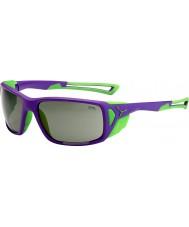 Cebe ProGuide lila grön variochrom topp solglasögon