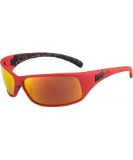 Bolle Rekyl matt röd polariserad tns brand solglasögon