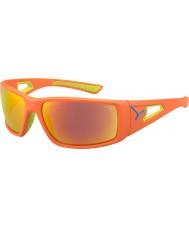 Cebe Sessions apelsin lime 1500 grå spegelapelsin solglasögon