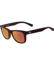 Lacoste L790s matt bourgogne solglasögon