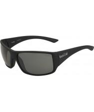 Bolle Tigerorm blanka svarta polarise tns solglasögon