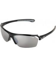 Cebe Vilda glänsande svarta solglasögon