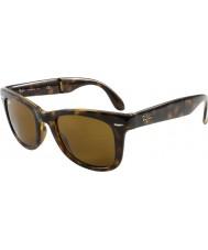 RayBan Rb4105 50 fällbara wayfarer ljus Tortoiseshell 710 solglasögon
