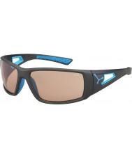 Cebe Session matt grå blå variochrom PERFO solglasögon