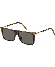 Marc Jacobs Mens Marc 46-s TLR 8h havana solglasögon