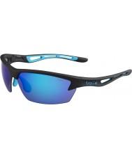 Bolle Bolt matt svartblå solglasögon