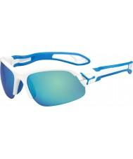 Cebe Cbspring3 s-pring vitblå solglasögon