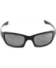 Oakley Oo9238-06 femmor kvadrat polerad svart - svart iridium polariserade solglasögon