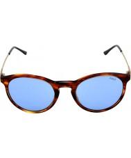 Polo Ralph Lauren Ph4096 50 klassiska stil randig havana 500772 solglasögon