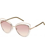 Marc Jacobs Damer marc 8-s TXA 05 guld bruna solglasögon