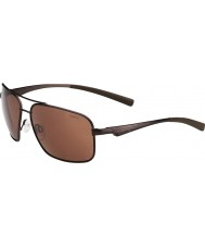 Bolle Brisbane matt brun polariserad a-14 solglasögon