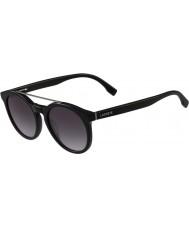 Lacoste L821s svarta solglasögon