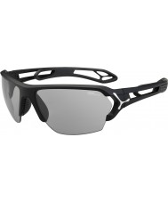Cebe S-track stor matt svart variochrom PERFO solglasögon