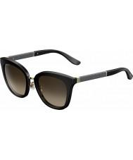 Jimmy Choo Damer Fabry-s FA3 J6 svart glittrande solglasögon