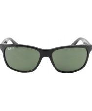 RayBan Rb4181 57 highstreet svart 601-9a polariserade solglasögon