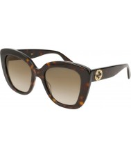 Gucci Ladies gg0327s 002 52 solglasögon