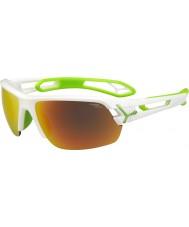 Cebe Cbstm11 s-track vita solglasögon