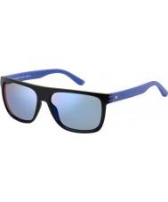 Tommy Hilfiger Mens th 1277-s FB1 23 blåa solglasögon