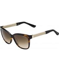 Jimmy Choo Damer Cora-s fa5 jd havana glitter solglasögon