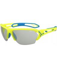 Cebe S-track stora pro neongul variochrom PERFO solglasögon
