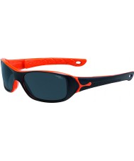 Cebe S-picy (ålder 7-10) matt svart orange solglasögon
