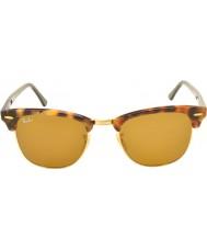 RayBan Rb3016 51 Club spotted bruna havana 1160 solglasögon
