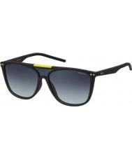 Polaroid Pld6024-s DL5 WJ matt svart polariserade solglasögon