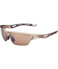 Bolle Tempest glänsande sandsten modulator v3 golf solglasögon