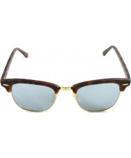 RayBan Rb3016 51 Club sand sköldpaddsskal-guld 114.530 silver spegel solglasögon