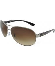 RayBan Rb3386 67 aktiv livsstil Gunmetal 004-13 solglasögon