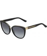 Jimmy Choo Damer dana-s 10e hd svarta solglasögon