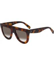 Celine Damer cl 41398-s 05L z3 havana solglasögon