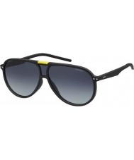 Polaroid Pld6025-s DL5 WJ matt svart polariserade solglasögon
