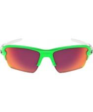 Oakley Oo9188-43 flak 2,0 xl grön fade - PRIZM fält solglasögon