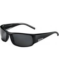 Bolle King glänsande svart polarise tns solglasögon