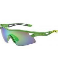 Bolle Begränsad upplaga virvel Orica grön brun smaragd solglasögon